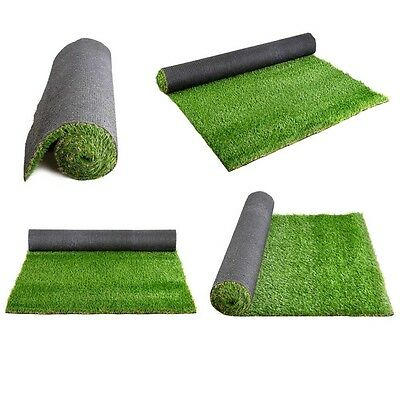10SQM Olive Artificial Fake Grass Polyethylene Lawn Flooring 20mm Indoor Outdoor