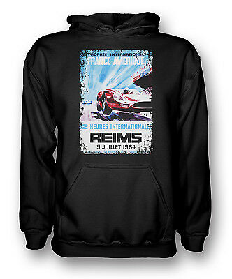 Reims Grand Prix 64 - Racing Car - Mens Hoodie