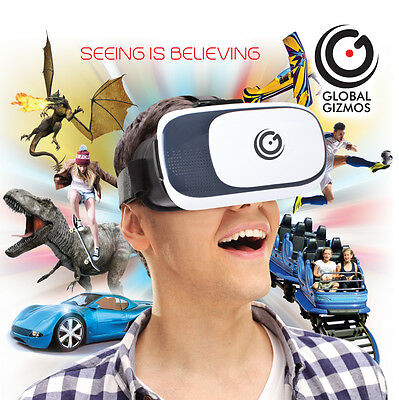 3D VR Headset Virtual Reality Experience - Global Gizmos