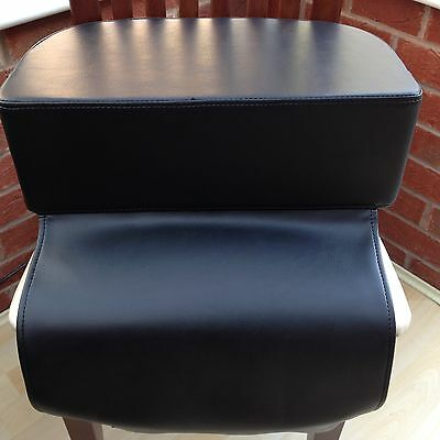 Black Salon Child Kid Booster Memory Foam Cushion Hairdressing Haircut Barber