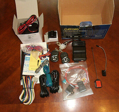 New Clifford Arrow 5 Vehicle Security & Convenience System G5