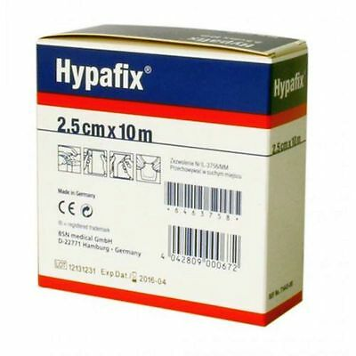 Hypafix Self Adhesive Dressing Retention Tape Thin 2.5cm x 10 meter Non-Woven