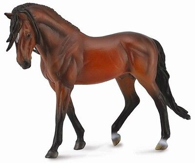 Collecta Large 1:12 Scale Model Horse - Andalusian Stallion Bright Bay