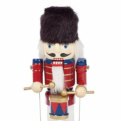 Musical Wooden Nutcracker 12""