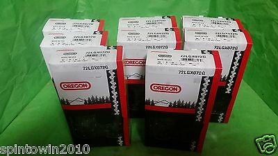"""8-Pack Oregon 20"""" Saw Chain 72LGX072G 72 Link 3/8,.050 33 RS 72"""