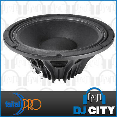 "Faital Pro 12PR300 8ohm Neodymium 12"" 99dB 600W Woofer Replacement Speaker"