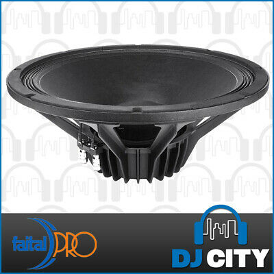"Faital Pro 15PR400 8ohm Neodymium 15"" 99dB 800W Woofer Replacement Speaker"