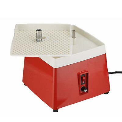 HIGA New 110V Mini Portable Stained Grinder Diamond Glass Art Grinding Tools Red