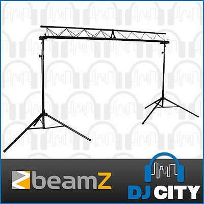 BEAMZ DJ Light Stand Stage Lighting Truss Kit LS-180TRUSS Tripod Stand Pack