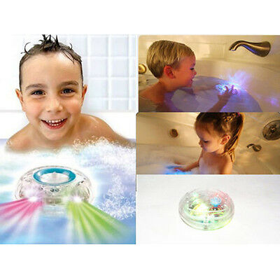 Party in the Tub Bath Time Fun Kid Shower Changing LED Light Toy new arrive