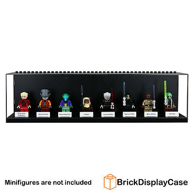 Display Case for Lego Star Wars Minifigure Mace Windu Kit Fisto Nute Chancellor