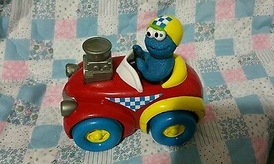 Sesame Street car cookie monster