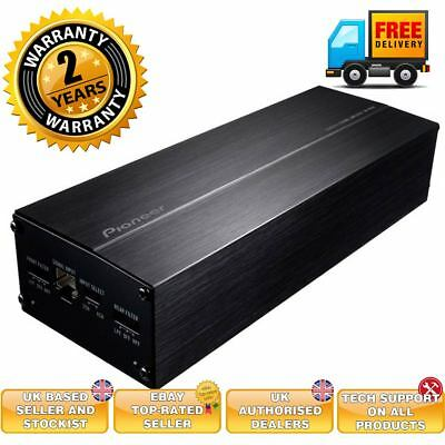 Pioneer Gm-D1004 Compact 4 Channel Class D Amplifier With Input Sensor