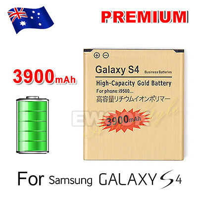 High Quality Glod 3900mAh Replacement Battery Li-ion For Samsung Galaxy S4 I9500