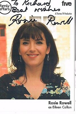 Rosie Rowell Actress Family Affairs C5 - Hand Signed Photograph 6 x 4
