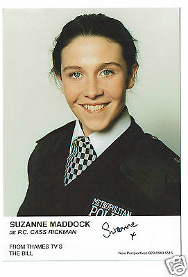 Suzanne Maddock Actress The Bill - PC Cass Rickman  Hand Signed Photograph 6 x 4