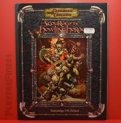 D&D Scourge of the Howling Horde -3th Edition / Softcover / Roleplaying Campaign