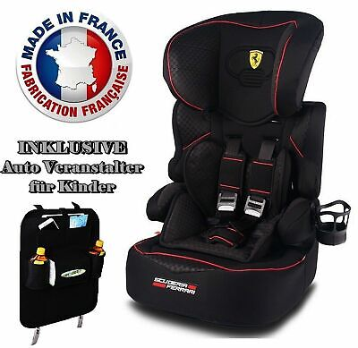 FERRARI CHILD CAR SEAT BELINE SP GT LIMITED BLACK GROUPE I/II/III ( 9-36 kg )