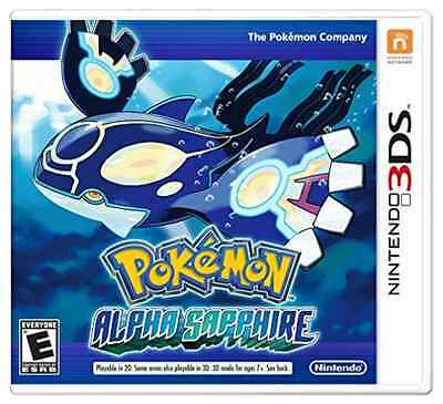 3Ds Action-Pokemon Alpha Sapphire  (Us Import)  3Ds New