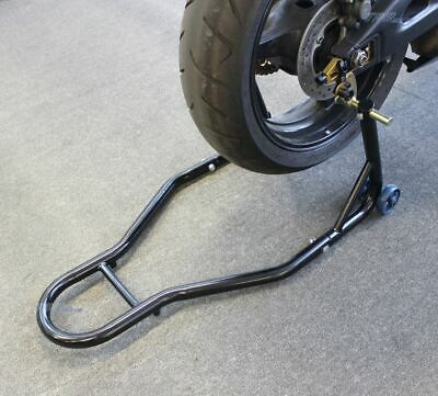 NEW Motorcycle Motorbike Rear Stand Paddock Race Lift Under Fork Bike Holder