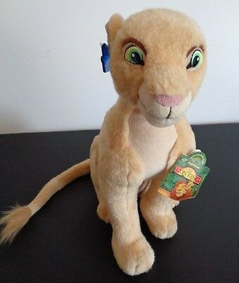 "DISNEY'S The Lion King VINTAGE 90'S Adult Nala 15"" Plush NEW WITH TAGS Applause"