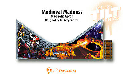 Medieval Madness Pinball Magnetic Apron Mod