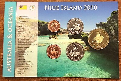 2010 NIUE island coin set