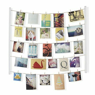 Hanging Photo Display Picture Wall Decor Home Family Photograph Collage Hangers