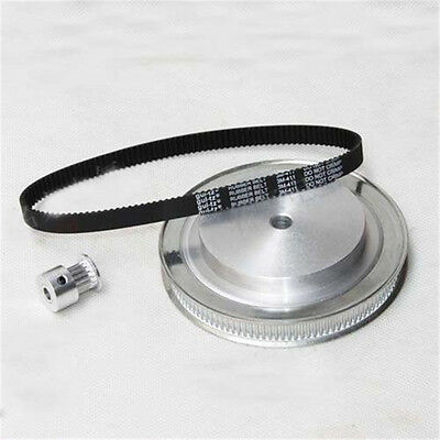 CNC Router Parts Synchronous Belt Wheel Reduction Ratio 8:1 for CNC Rotary Axis