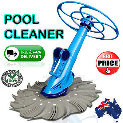 Automatic Swimming Pool Cleaner Vacuum Creepy Crawler Suction Cleaning Machine