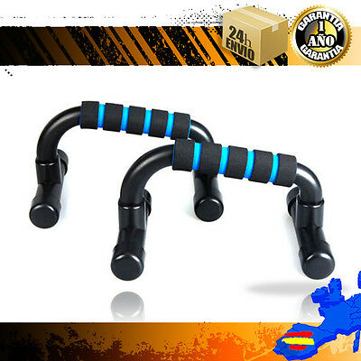 PUSH UP BAR SET APOYO EJERCICIOS fitness,  Soportes para flexiones, agarres.