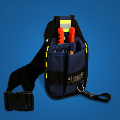 Professional Multi-pocket Bag Electrician Tool Belt Pouch Work Wear-resisting