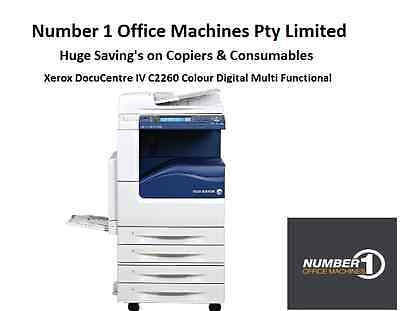 Xerox DocuCentre IV C2260 Colour Digital Copier, Network Print/Scan, Fax, email