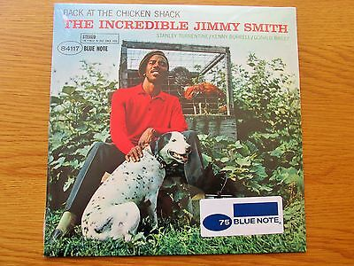 JIMMY SMITH Back At The Chicken Shack 2014 EU VINYL LP BLUE NOTE 75 NEW SEALED