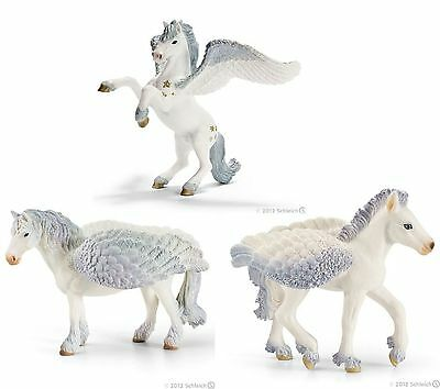 Schleich World Of Bayala Pegasus Winged Horses. Three To Choose From
