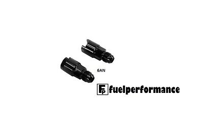 Flex Fuel Sensor AN Adapter  - 6AN to 3/8 in Hard Tube Push-on EFI Fitting