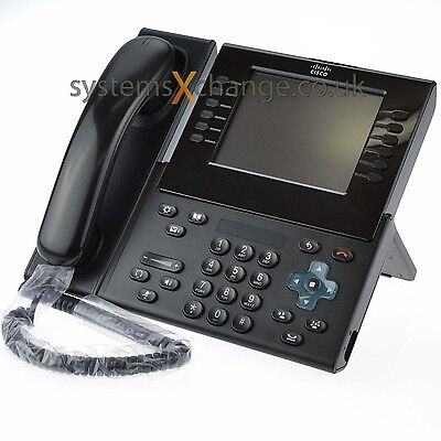 Cisco CP-9971-C-K9 VoIP Phone with CP-CAM-C Video *12 Months Warranty* Free Del