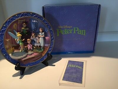 Disney 3D Peter Plan Collectable Plate