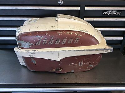 johnson 18 hp fde-11 shroud hood Cowl