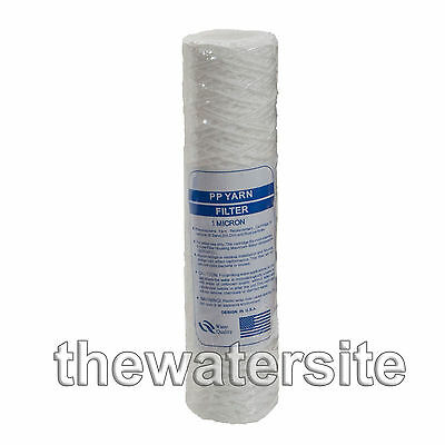 "10"" Bio-Diesel Vegetable Oil Wound Particle Filters 1 Micron Pack Of 1"