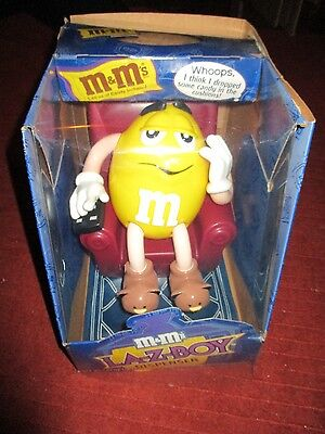 M & M La-Z-Boy 1999 Limited Edition Collectible  Vintage Candy Dispenser NIB