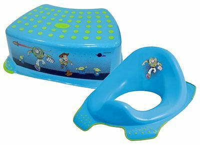 Disney Toy Story Step Stool + Toilet Training Seat Combo