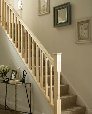 Cheshire Mouldings Stairs Handrail / Baserail 2400mm FINEST QUALITY  - PINE