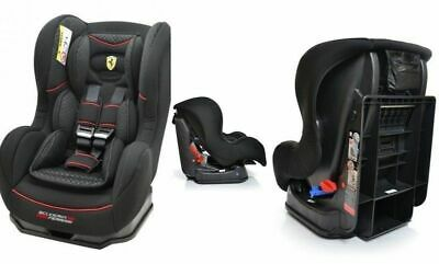 Ferrari Child Car Seat 0-18Kg Cosmo Gt Limited Black Groupe 0/1 *