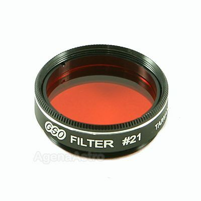 "GSO 1.25"" Color / Planetary Filter - #21 Orange"