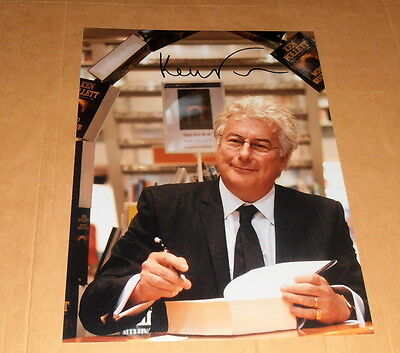 Ken Follett *Die Säulen der Erde*, original signed Photo 20x25 (8x10)