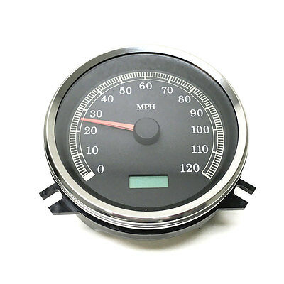 Harddrive T21-6983-12 Black Face Elect. Speedometer Harley Softail 1996-1999