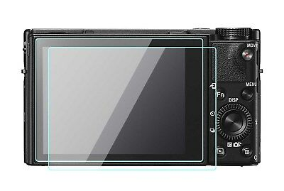 2 Pack Sony RX100III RX100II RX100 IV V Screen Protector Tempered Optical Glass