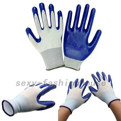 Latex Coated Waterproof Thorn Resistant Anti Skid Garden Work Safety Gloves