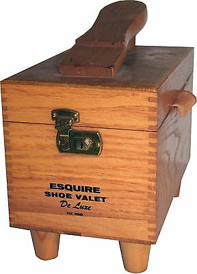 Vintage Esquire Shoe Valet Shoe Shine Kit With Brushes 116A